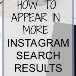 How to appear in more Instagram Search Results - Deanna Wampler - Social Media Tips